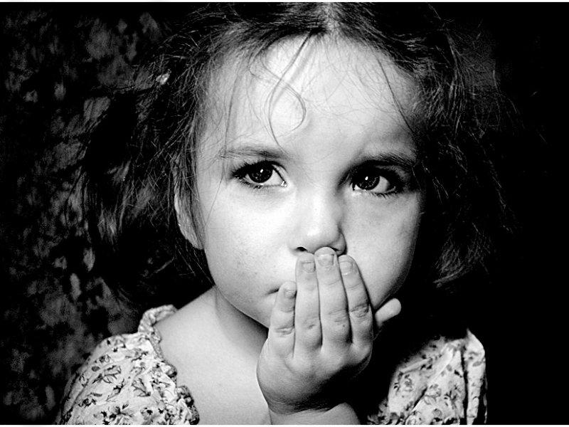 У ребенка страх смерти