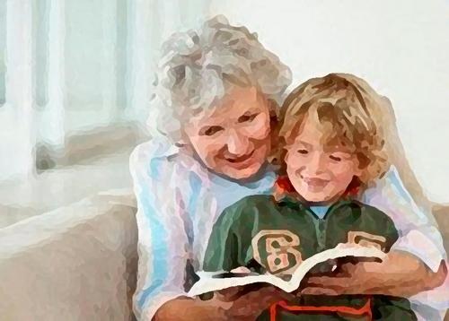 Меня воспитывает бабушка – папина мама