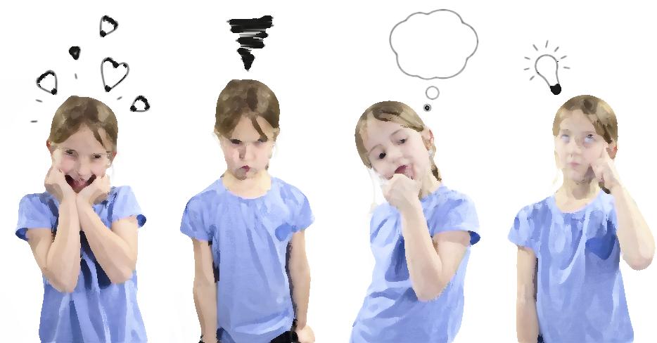 Как помочь ребенку выразить свои чувства